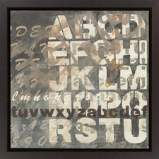 Neutral Type II (A) by Vision Studio Framed Textual Art