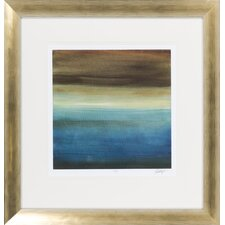 Abstract Horizon III by Vision Studio Framed Graphic Art