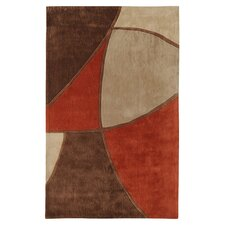 Cosmopolitan Brown/Rust Rug