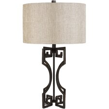 "Macy 29.5"" H Table Lamp with Oval Shade"