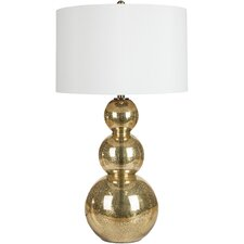 "Madden 31.5"" H Table Lamp with Oval Shade"