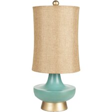 "Madge 27"" H Table Lamp with Drum Shade"