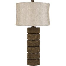 "Monroe 31"" H Table Lamp with Drum Shade"