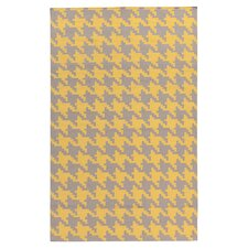 Frontier Elephant Gray/Quince Yellow Area Rug