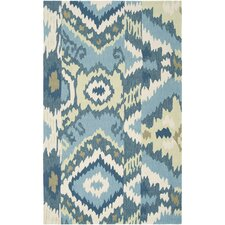 Brentwood Teal Blue Area Rug