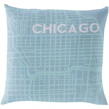 <strong>Surya</strong> Take me to Chicago Pillow