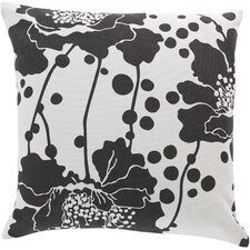 Alluringly Abstract Floral Pillow