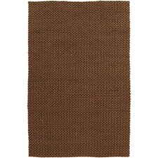 Juno Burnt Orange Texture Rug