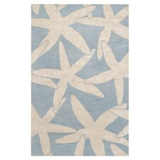 Escape Powder Blue/White Rug