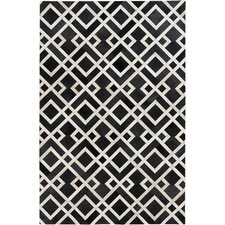 Trail Black/Ivory Area Rug
