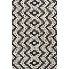 Trail Black/Gray Area Rug