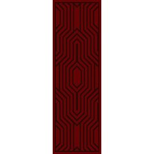 Mystique Burgundy Area Rug