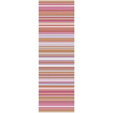 Mystique Hot Pink Stripe Area Rug