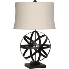 """Tabitha 26"""" H Table Lamp with Drum Shade"""