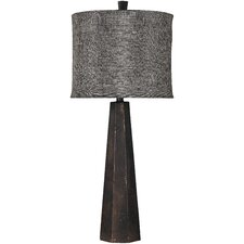 Sadie Table Lamp with Drum Shade