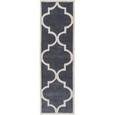 Mamba Ivory/Light Gray Geometric Area Rug
