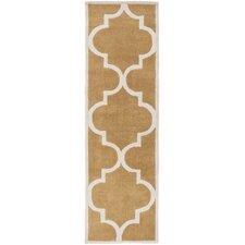 Mamba Burnt Orange/Ivory Geometric Rug