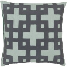 Intersecting Squares Throw Pillow