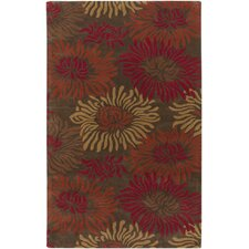 Goa Brown/Orange Area Rug