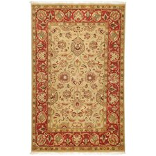 Taj Mahal Red Rug