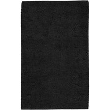 Aros Black Area Rug
