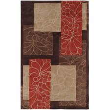 Cosmopolitan Brown/Red Rug