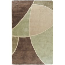 <strong>Surya</strong> Cosmopolitan Brown/Green Rug