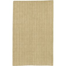Jute Woven Tan Checkered Rug