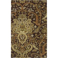 Ancient Treasures Chocolate Rug