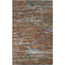 Banshee Sepia/Slate Blue Rug