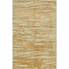 Banshee Gold/Soft Sage Area Rug