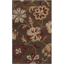 Centennial Grey/Dark Brown/Cinnamon Spice Rug