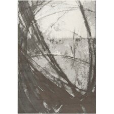 <strong>Surya</strong> Contempo Gray Swirls Art Work Rug