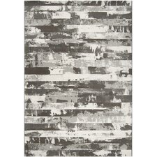 <strong>Surya</strong> Contempo Gray Stripes Rug