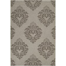 Elements Light Gray Outdoor Area Rug