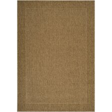 Elements Beige Outdoor Rug