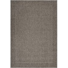 Elements Dark Gray Outdoor Rug