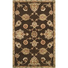 Langley Dark Brown Oriental Rug