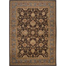 <strong>Surya</strong> Midtown Dark Brown Oriental Rug