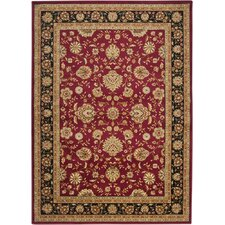 <strong>Surya</strong> Midtown Red/Black Rug