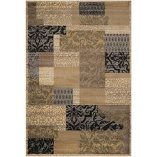 Midtown Light Brown Oriental Rug