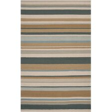 Rain Stripe Outdoor Rug
