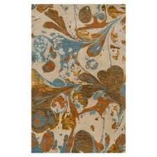 Banshee Dark Goldenrod Area Rug