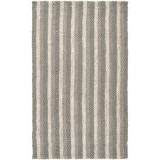 Country Jutes Light Gray Area Rug