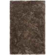 Grizzly Mushroom Solid Area Rug