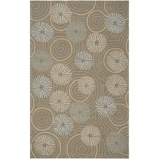 Labrinth Pigeon Gray Outdoor Rug