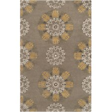 Mosaic Golden Raisin Rug