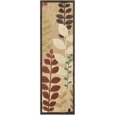 Portera Chocolate/Rust Outdoor Rug