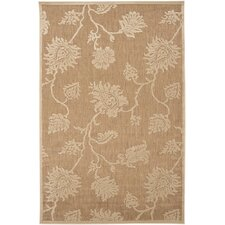 Portera Brown Sugar/Tan Indoor/Outdoor Rug