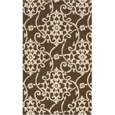 Rain Coffee Bean Outdoor Rug